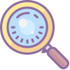 search, popular icons, common actions, dusk, find, detective, scan, magnify, magnified, magnifying glass, details, exploration, finder, explore, look for, seek, search button, searh
